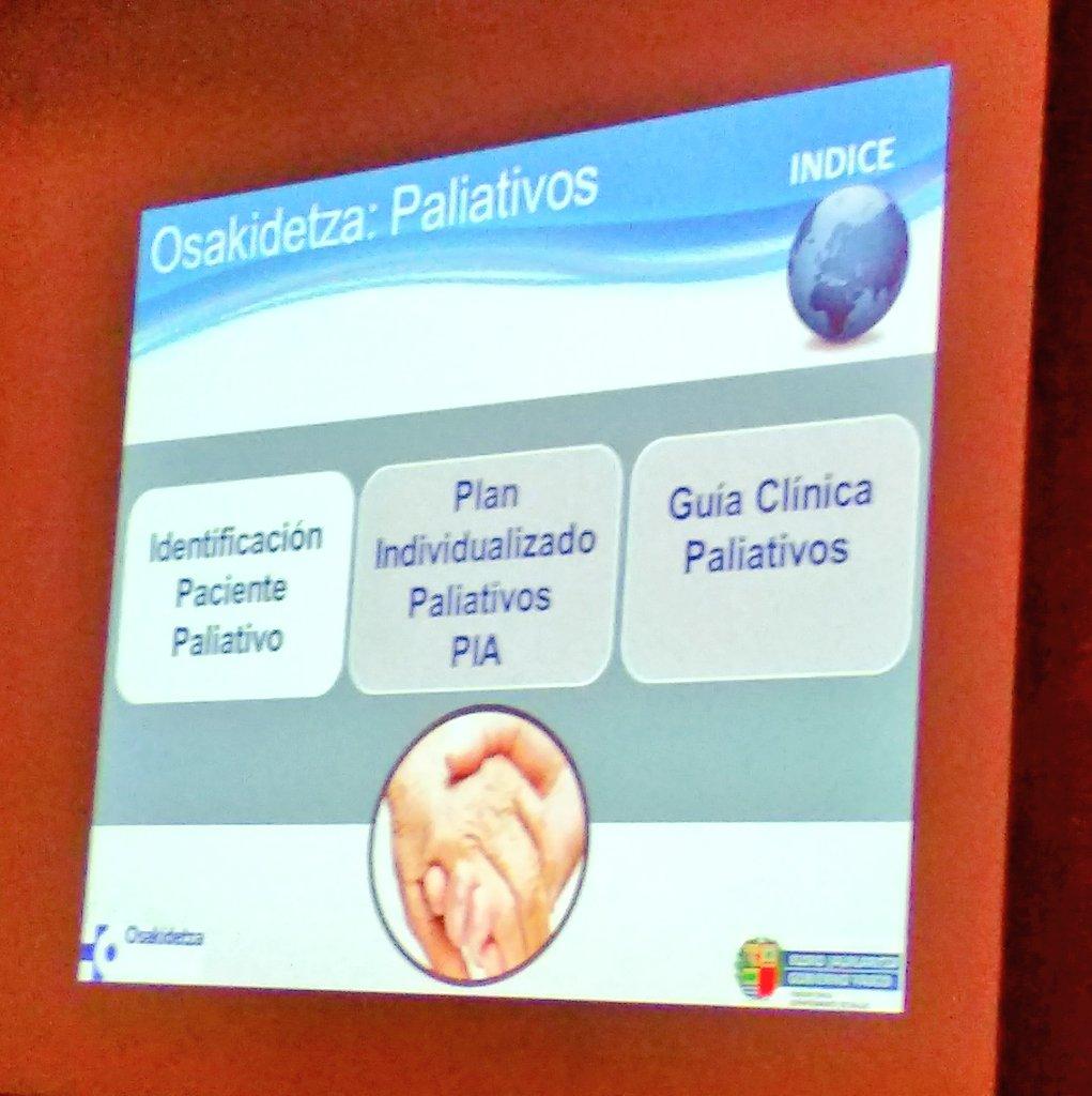 """Identificación precoz del paciente con necesidades paliativas. Cambiar el """"pronóstico"""" por """"qué necesita"""". """"Identifica, no esperes al final"""" """"Identifikatu, ez itxoin bukararaino"""" #innopal #necpal #faqs #pia #idcpal #paliativos #atencionpaliativa #atenciónprimaria #osakidetza https://t.co/OX3USUeNRl"""