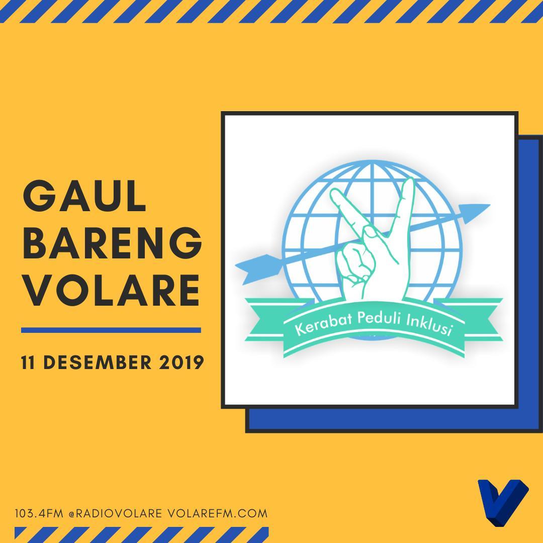 Gaul Bareng Volare: Klik Peduli Inklusi