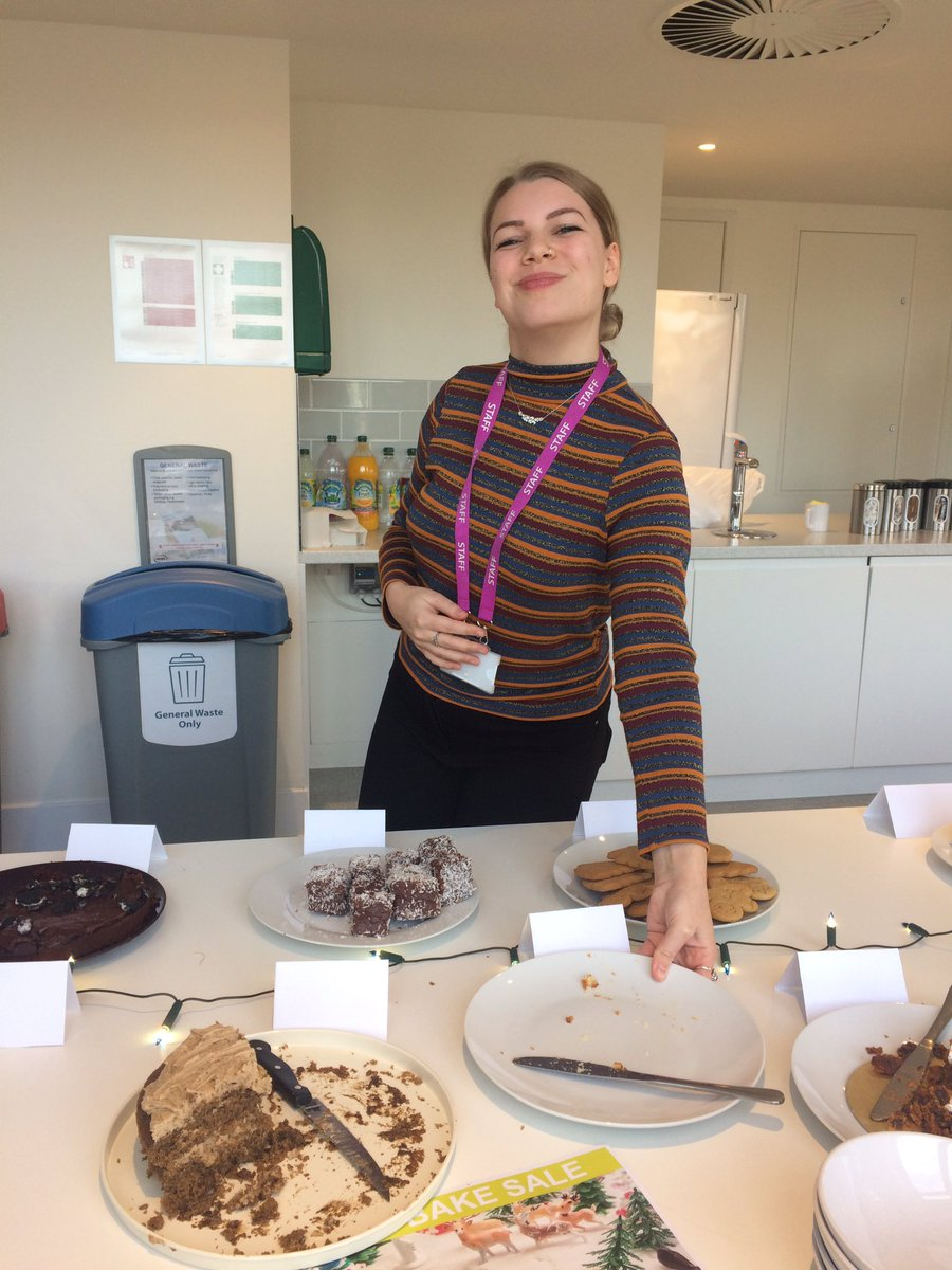 RT @LP_Emmabull Another cake down at the @LP_localgov bake sale! A very happy @LJosiebrewer Once they're gone they're gone! 🍰