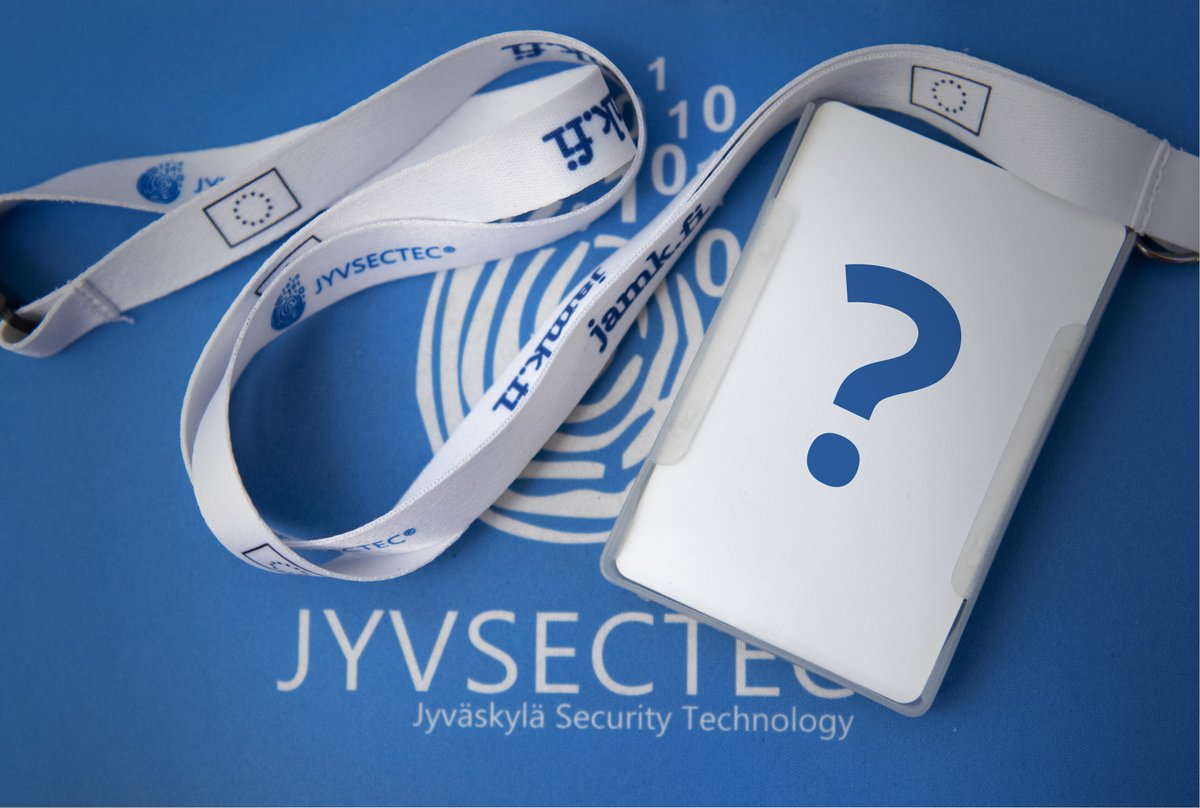 Twiitti käyttäjältä @JYVSECTEC
