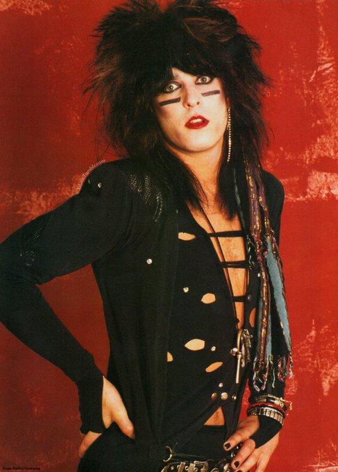 Happy Birthday to Mötley Crüe\s bassist, Nikki Sixx!