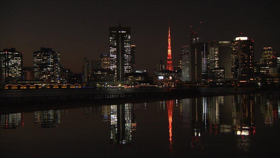 美しい #東京タワー を載せておきます  #新美の巨人たち #建築 #夜景