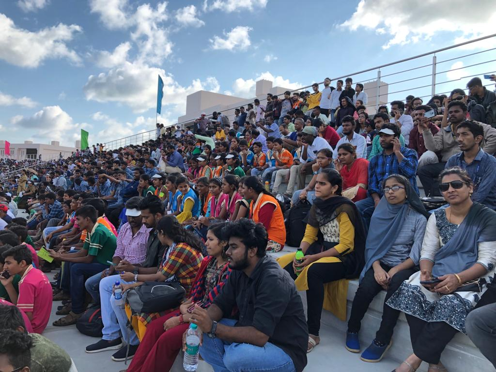 It was a dream come true for over 7000 visitors who witnessed the launch of #PSLVC48 live from the Viewers gallery in Sriharikota.Stay tuned for future announcements to register for the upcoming launches.