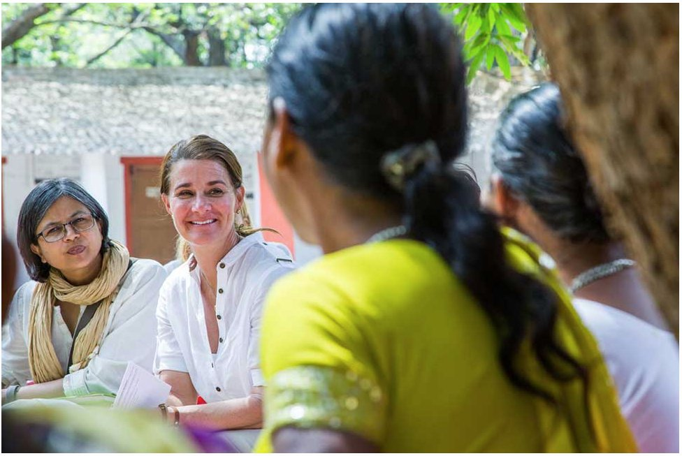 """We exercise power through the communities we create."" Take a look at @melindagates article 'The power of women coming together' 👩‍👩‍👧‍👧http://ow.ly/KGjb50xkH6K  #womenempoweringwomen #motivation #womenintech #diversity #shecancode"
