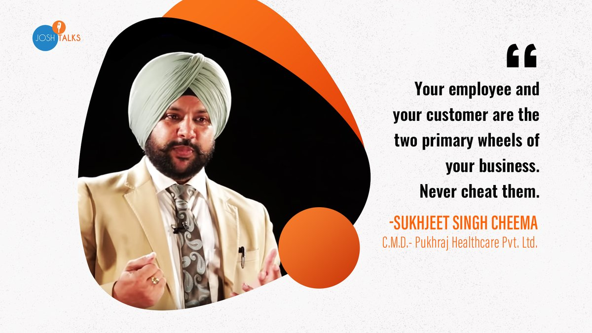 Sukhjeet Singh Cheema envisaged the idea of providing the people with the best of health products that are natural and are of the highest quality. Watch his journey from having nothing to earning crores today: http://bit.ly/33t0m74 #Motivation #Inspiration
