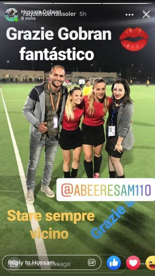 #Eleonora, the Italian player #Raquel the Spanish player, a professional stars in the ranks of the #SHARKIA_WomeN_Hockey_Team contributed greatly to the #WON of the Sharkia WomeN Hockey Team in the African Clubs Champions League. #Congratulationspic.twitter.com/EWBaLxJzaT