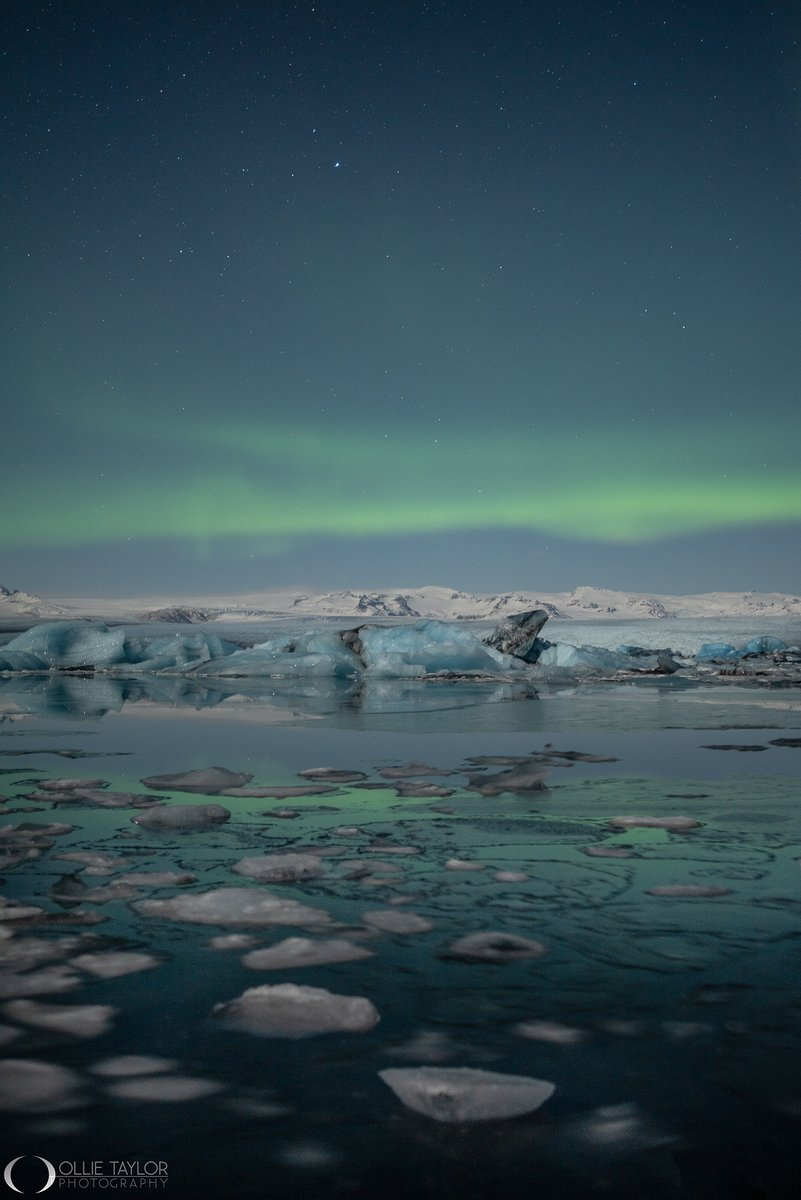 Jokusarlon Moonlight #Iceland Sat by the lagoon for about 5 hours a few nights back, and whilst the #Lumix S1 was creating timelapse, let off some single frames with the Lumix S1R and the 50mm 1.4 Pro #earthcapture #StormHour #ThePhotoHour