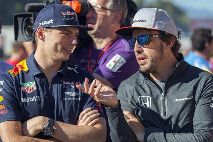 .@Max33Verstappen: Si @alo_oficial estuviera en @MercedesAMGF1, también habría ganado campeonatos - bit.ly/2Pdbu45