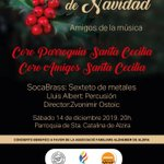 Image for the Tweet beginning: Concert nadalenc solidari, 11 de