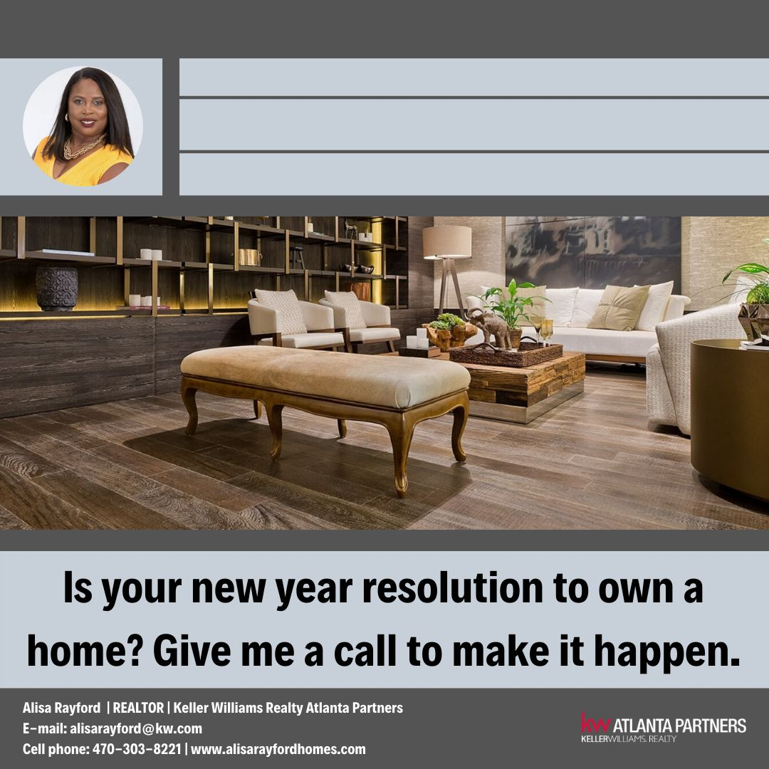 Give me a call! Let's start your New Years today!#homesforsale #NewYearsResolution #buyhomes #helpingfamilies #sold #buy #atlantarealestate #atlanta #realtor #daisyrealtyteam