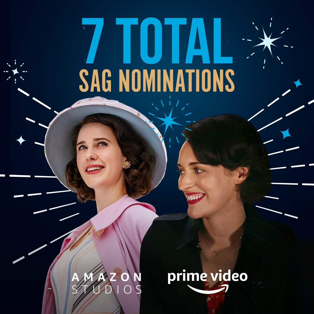 Congrats to the incredible ensemble casts of @MaiselTV and @fleabag, @RachelBros, @AlexBorstein, Tony Shalhoub, PWB and Andrew Scott for their #SAGAwards nominations. So well-deserved!