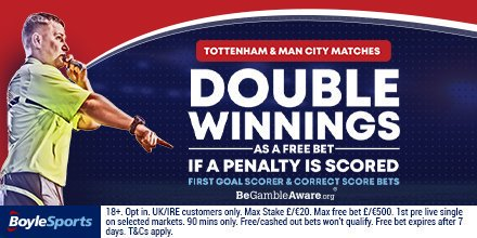 RT & REPLY! Predict the First Goalscorer in Bayern Munich v Tottenham #BAYTOT & you could #win a free €/£20 bet! Use #BoyleGoal