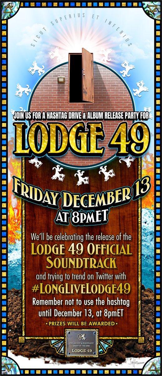 Replying to @darth_jeffR: #Lodge49 #SaveLodge49