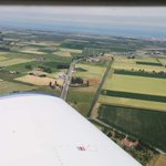 Approaching #Ostende Airport #EBOS on the coast of #Belgium #WingviewWednesday