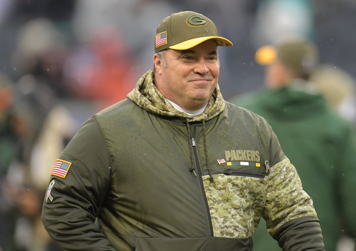 The podcast is up! With a special appearance from former #Packers coach Mike McCarthy
