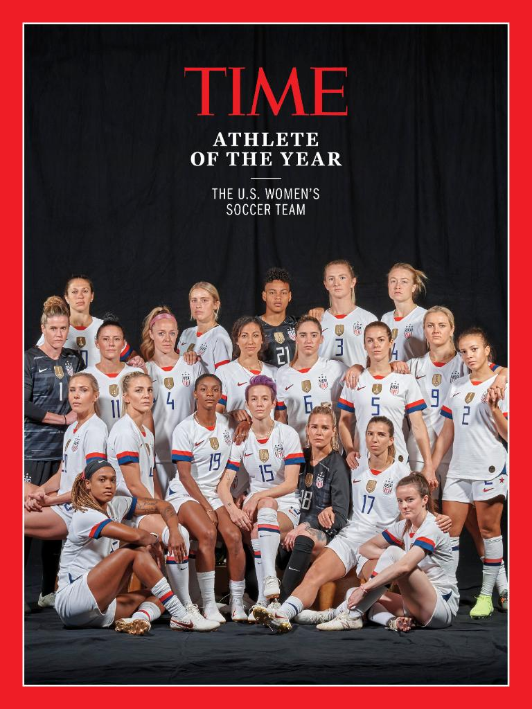 The U.S. Women's Soccer Team is TIME's 2019 Athlete of the Year #TIMEPOY ti.me/38wJQqy