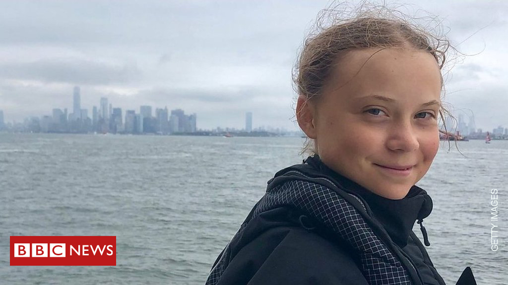 Climate activist Greta Thunberg named Time magazine's 'Person of the Year' bbc.in/2YHDfoG