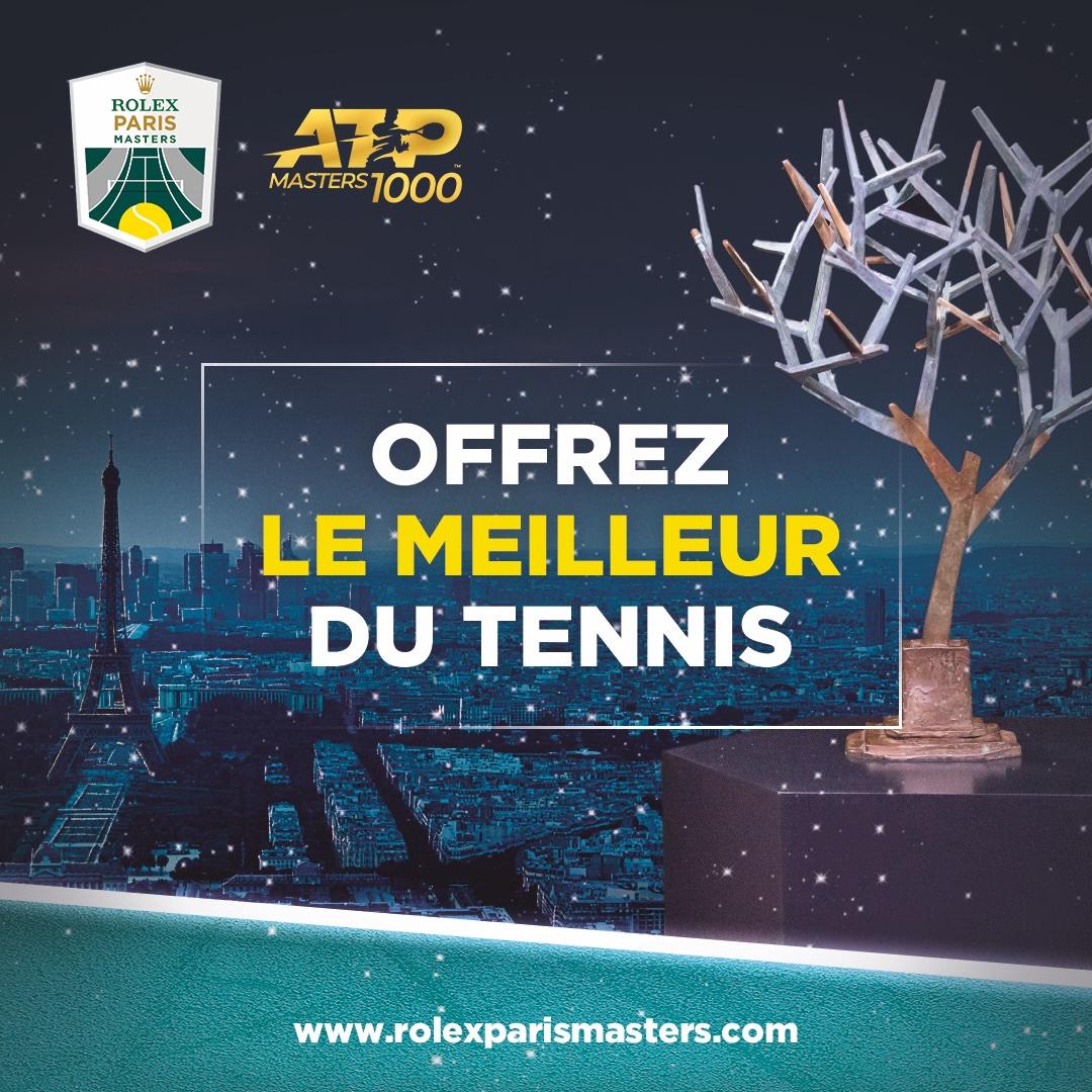Offrez le meilleur du tennis avec nos offres pour le #RolexParisMasters ! >> https://t.co/vdXTfTnPBw https://t.co/GffUX9T5DY