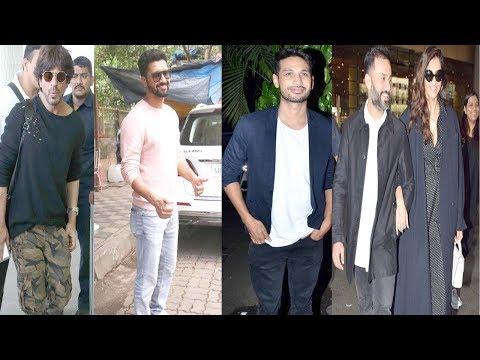 ShahRukh Khan ,Sonam Kapoor & Anand Ahuja , Arjun Kanungo ,Vicky Kaushal Spotted at Airport | #ShahRukhKhan #SonamKapoor #AnandAhuja  #ArjunKanungo #VickyKaushal