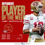 Image for the Tweet beginning: Offensive Players of the Week