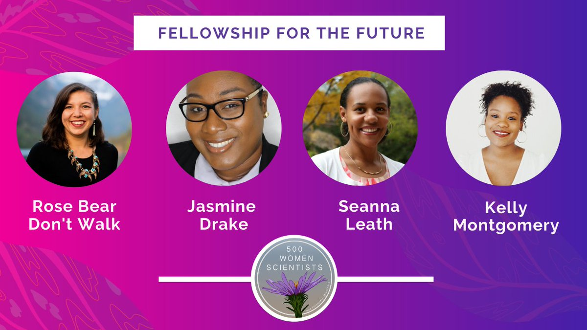 Congrats to our very own @DrJasmineDrake for being selected    in the inaugural cohort of fellows for the future by the @500womensci | #womeninstem @TxSouthern_AJ @TexasSouthern @HBCUDigest @HBCUBuzz @gerard_924 @tmcf_hbcu