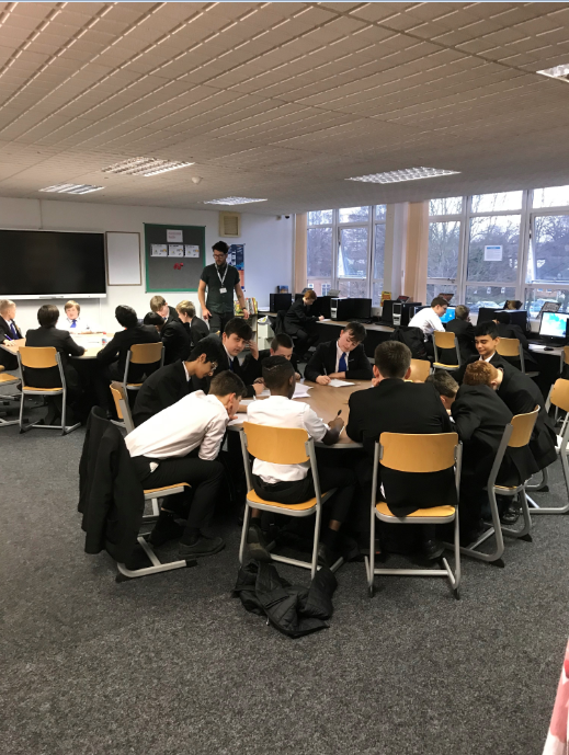 Y8 and Y9 boys had the opportunity to work with Wakefield poet Matt Abbott today, breaking down a 'I can't' attitude to poetry and using their imagination to produce poems exploring their own identity #poetry2019 #comeontheboys