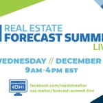 Join the 2019 Real Estate Forecast Summit live today from 9am-4pm EST! #NARForecastSummit https://t.co/pXp3E6VPpK