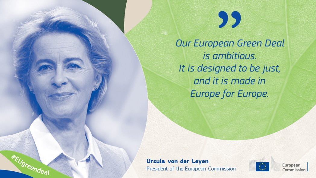 Many Europeans are already taking action. Our #EUGreenDeal is for them!