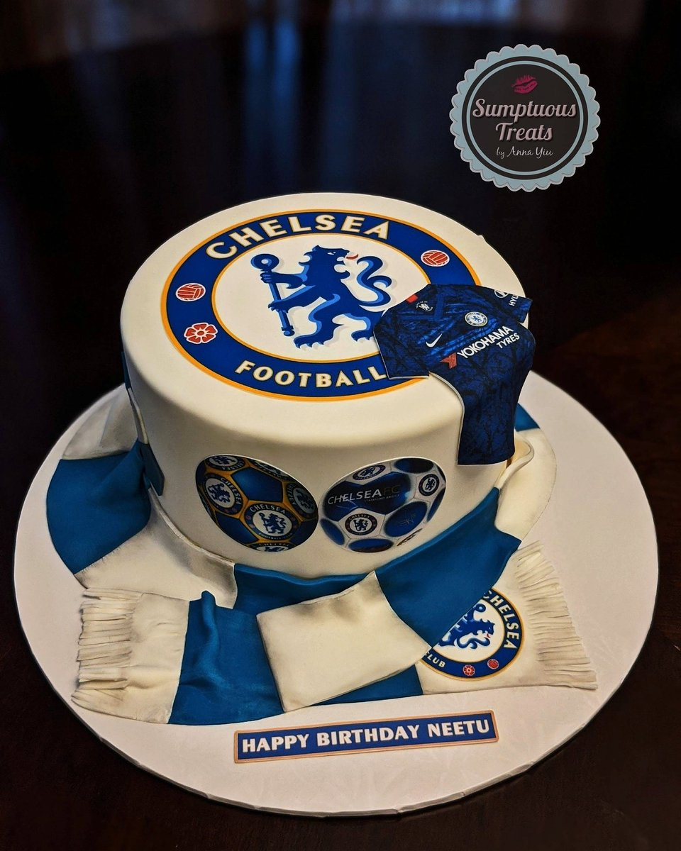 Admirable Sumptuous Treats On Twitter Chelsea Football Super Fan Soccer Personalised Birthday Cards Veneteletsinfo