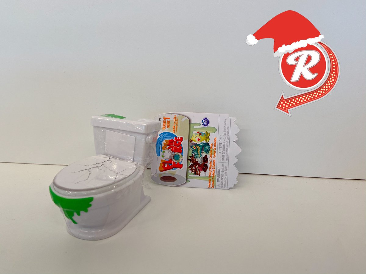 The last bit of our popular flush force toys are out. You put water in the toilet and grow your very own monster. #cooltoys #reeders #stockingstuffers #21standlewispic.twitter.com/TJvSFs8EqN