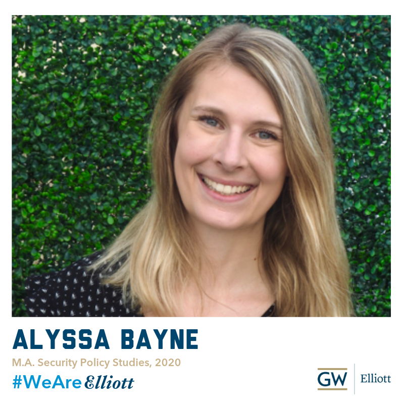 2nd-yr Security Policy Studies student Alyssa is concentrating in 🇺🇸US National Security and completed and internship with the State Department over the summer! ☀️Read about what inspired her to join the @ElliottSchoolGW in her #WeAreElliott profile! http://ow.ly/DQr650vDrdf