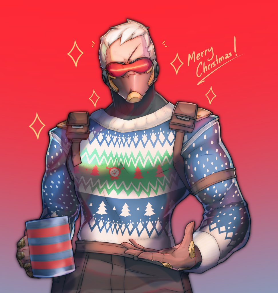 Ugly Sweater 76   This skin.... just glorious... and it's 'free' to get!!  I'm running to get those victories!!  Also I'm pretty sure Jack is the type of guy who proudly wears an ugly sweater and even brag about it. Best man.  #overwatch #soldier #soldier76 #Christmas<br>http://pic.twitter.com/rr7Kftgtzk