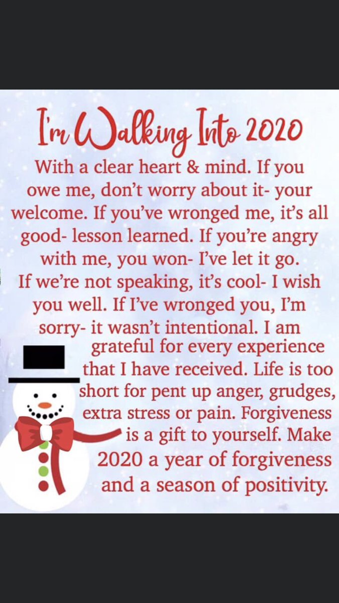 Here is my thoughts for 2020: Merry Christmas and Happy New Year!