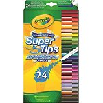 Image for the Tweet beginning: Crayola SuperTips Washable Felt Tip