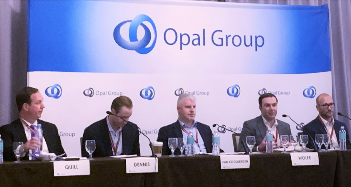 Our Jerry van Koolbergen was featured as a guest expert on the #MiddleMarket panel at @Opal_Group's #CLO Summit. Truly an insightful discussion on this evolving asset class. #ABS #loans #creditratings