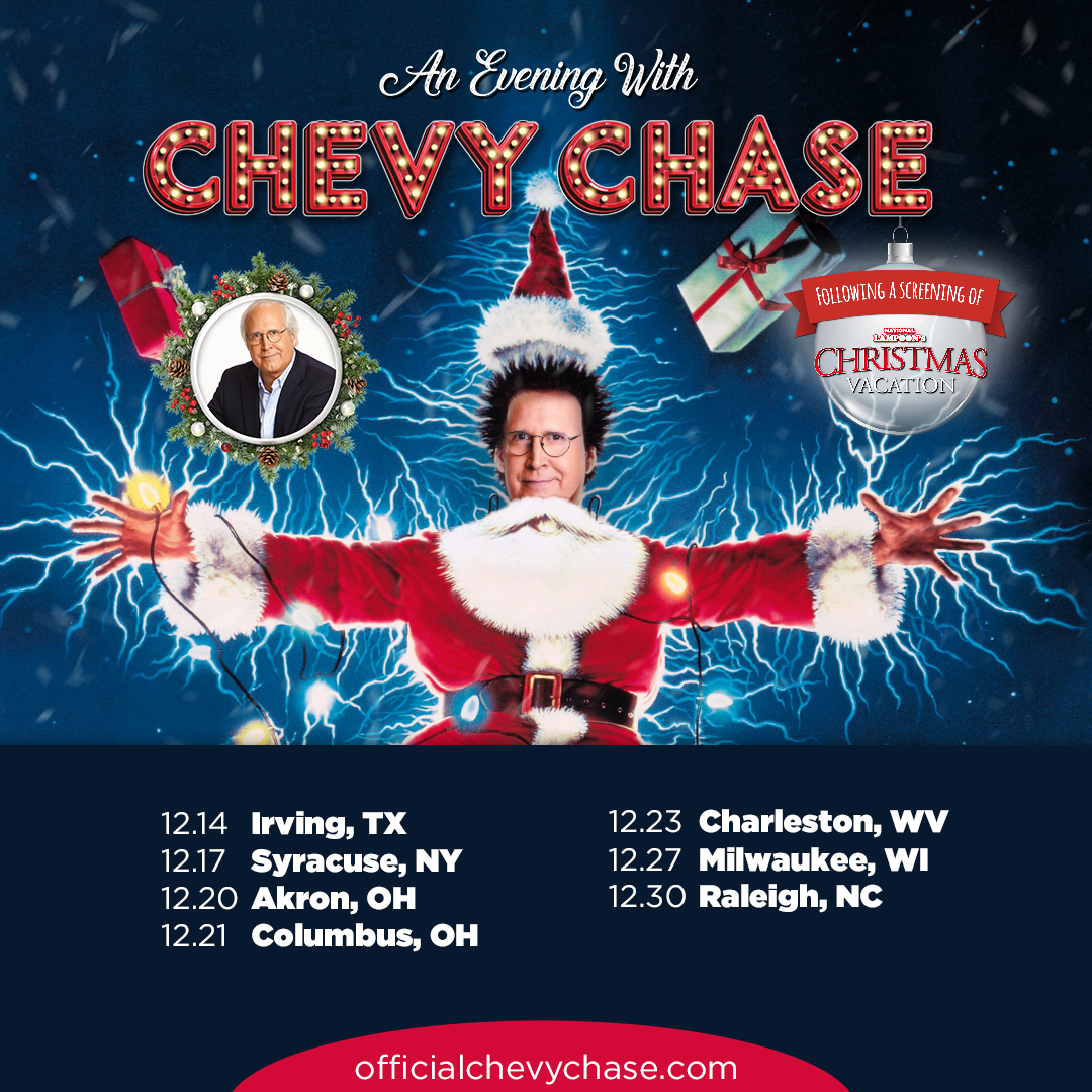 Chevy Chase On Twitter The Christmas Vacation Tour Continues With Irving Thepaviliontmf This Week For Tour Cities Details Visit Https T Co 9eoogsnew5 Https T Co Fttzxu0k6a