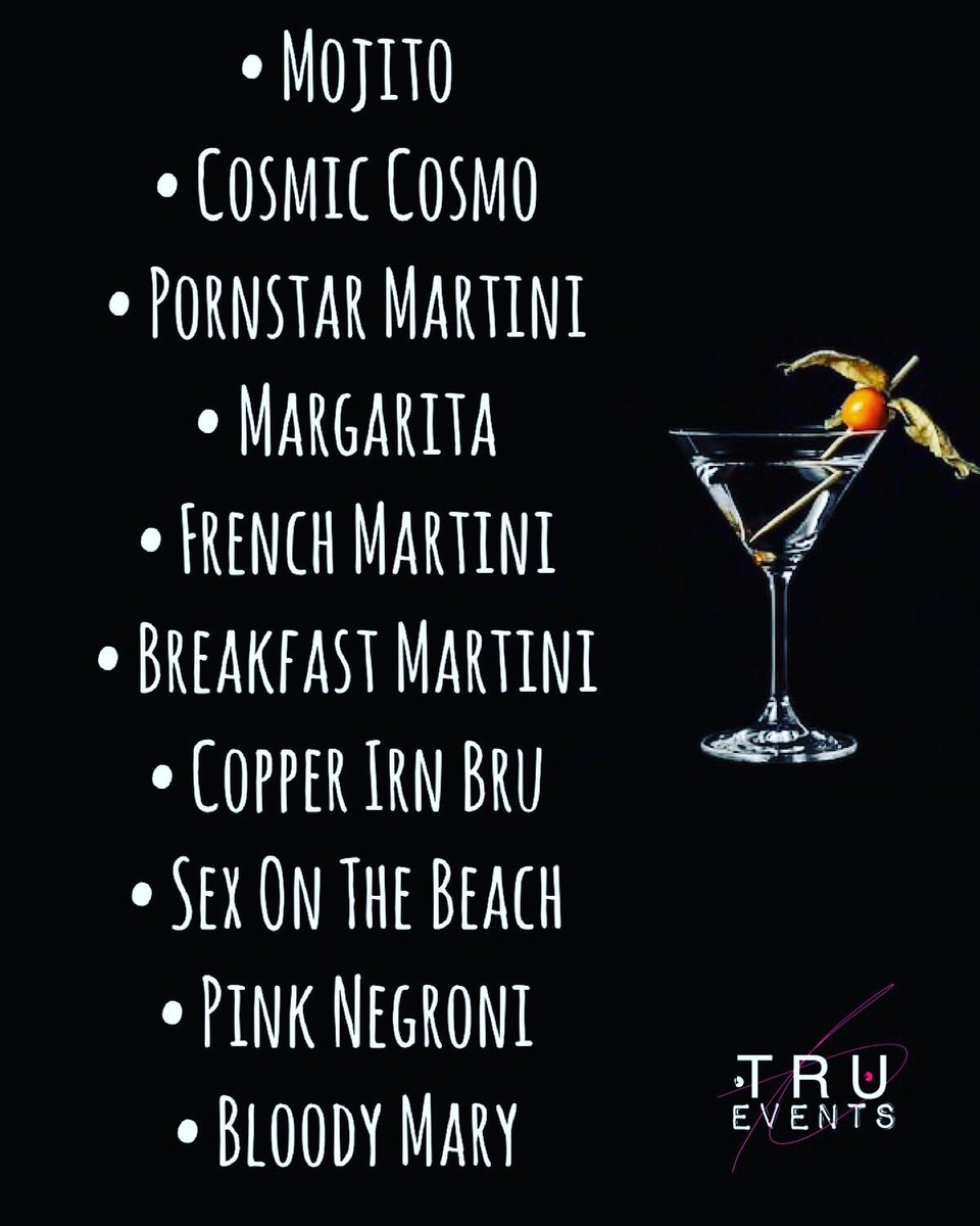 Thinking of #Booking one of our #cocktailparties for #2020? Then here's the first 10 #cocktails released! Don't worry we have many more to come! This is just our #Classical list! . .. ... #cocktailmaking #derby #cocktailsderby #party #alcohol #drinks #mixology #cocktailsathome pic.twitter.com/wpDSfHnBYx