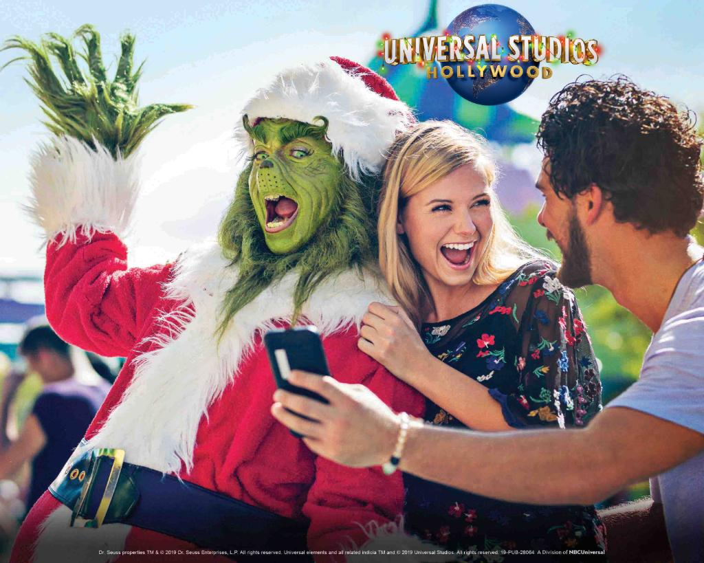 Get in the spirit with memorable holiday experiences at Universal Studios Hollywood. Join in on the celebration with your favorite characters and share holiday traditions with your friends and family now through December 29. #AAADiscounts