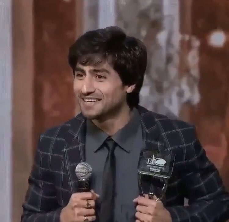 He always deserves to be the first  #HarshadChopdaWonITA2018  @LionsGoldAwards @Dpiff_official @abhialmish @lionrajumanwani @WeWork @aneelmishra