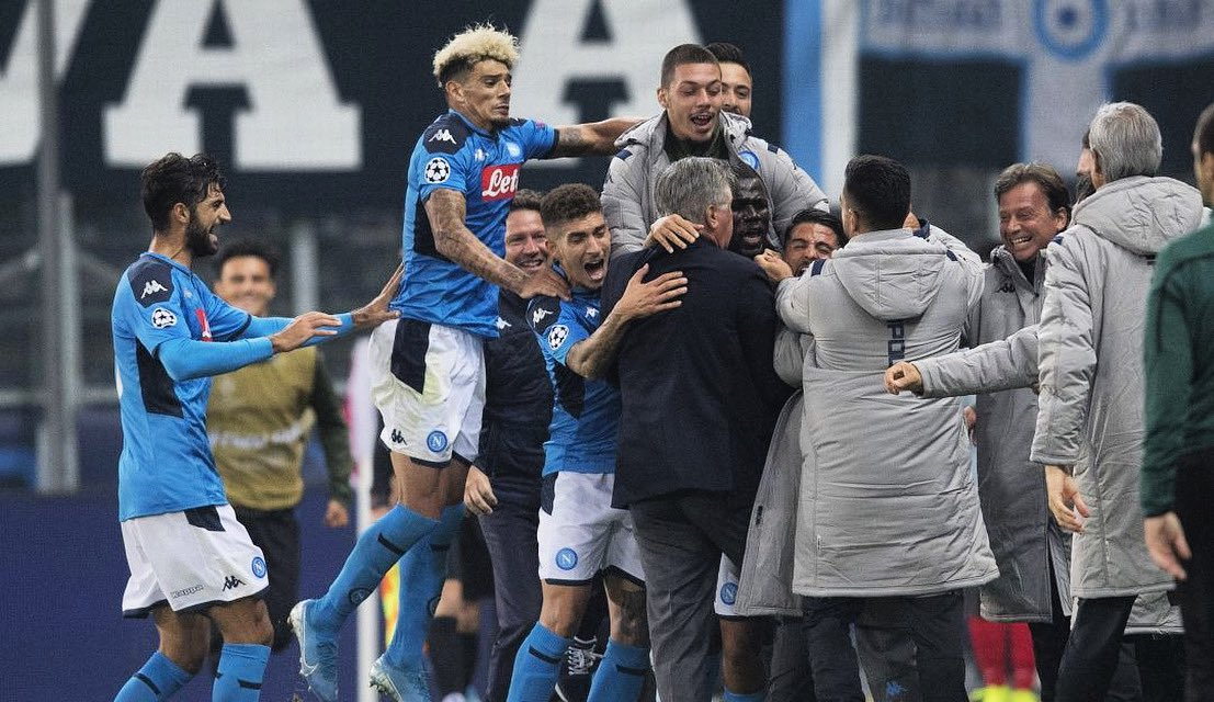 Napoli : le message d'adieu de Carlo Ancelotti