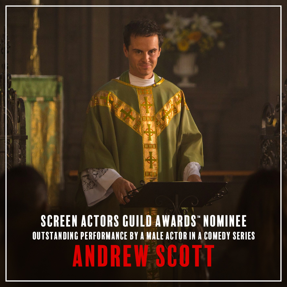 Our Father, who art a #SAGAwards nominee. Congratulations to Andrew Scott on his nomination for Outstanding Performance by a Male Actor in a Comedy Series. #Fleabag