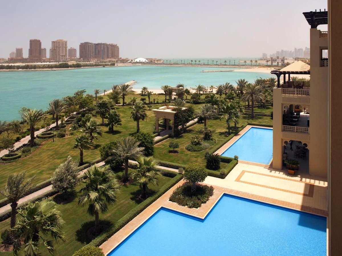 Mais imagens do hotel que o Flamengo ficará hospedado em Doha. #ODia