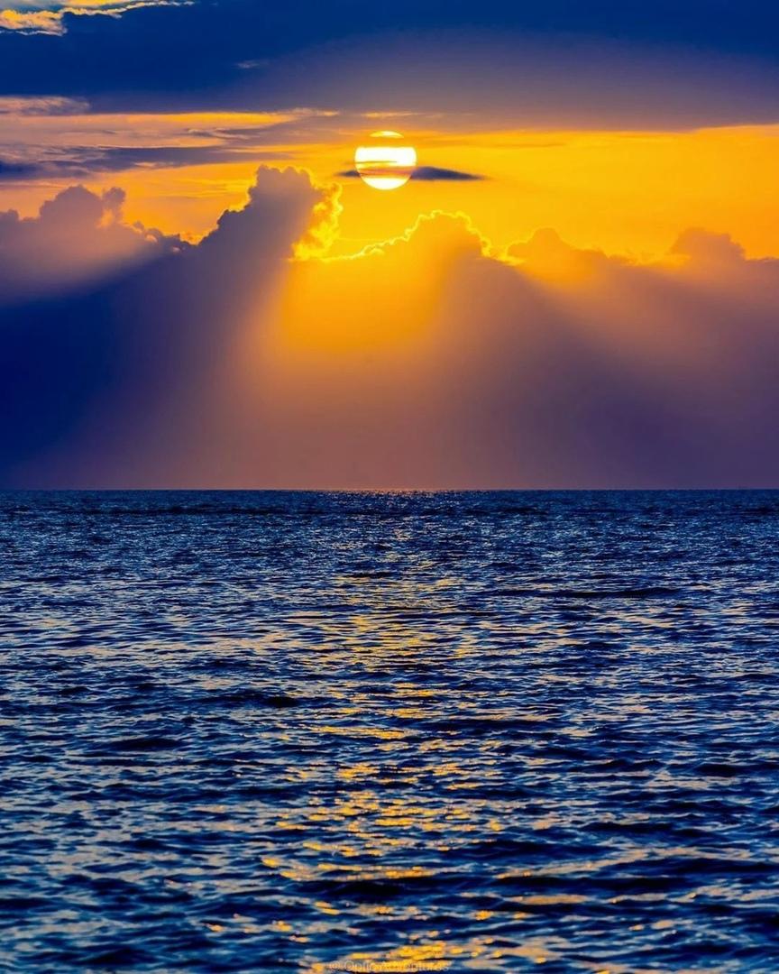 Морской закат картинки