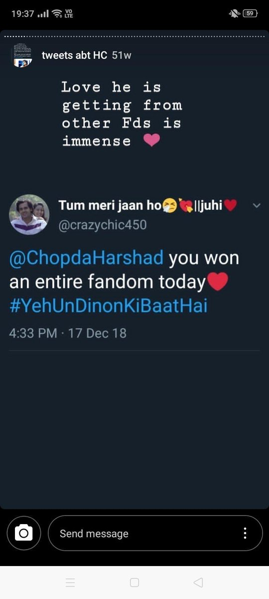 Harshad's rivals fans congratulated him saying that they are Happy their idols got defeated by HC as he's truly deserving.  @LionsGoldAwards @Dpiff_official @abhialmish @lionrajumanwani @WeWork @aneelmishra @TheITA_Official   #HarshadChopdaWonITA2018