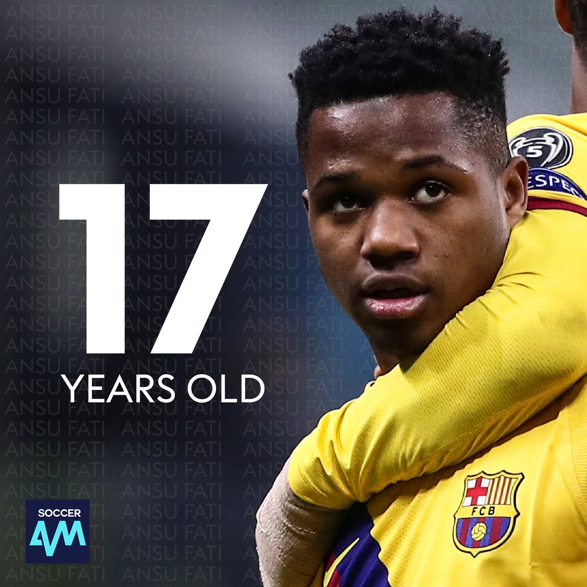 Ansu Fati is now the youngest goalscorer in Champions League history! 17 years and 40 days old 👶 What was your biggest achievement at his age? 💭