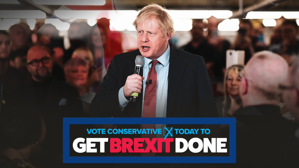 Together we can get Brexit done.
