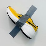 Image for the Tweet beginning: Art you can wear. 👟#BananaArt