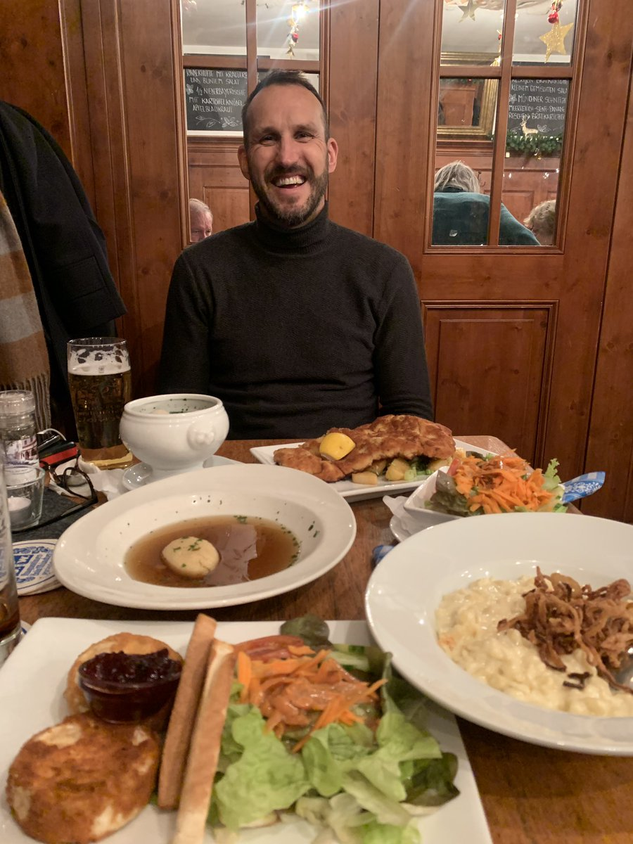 When in Germany ....🇩🇪 The clue's in the name... but @schwarzer_mark liiiiiikes his German food!