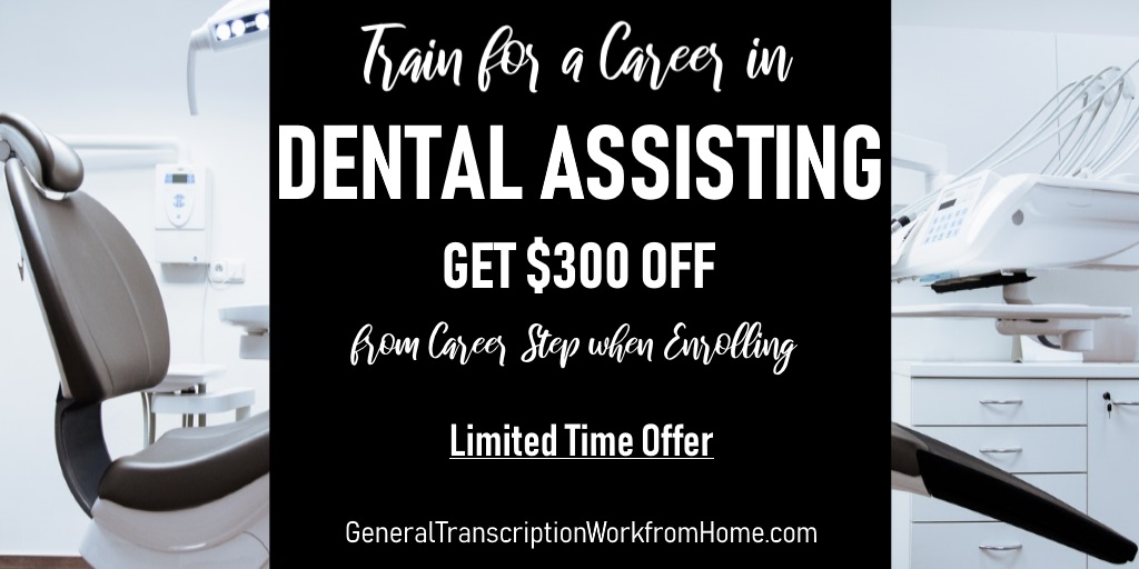 $300 off. Get Training to Become a Dental Assistant. Ends by 12/11 https://bit.ly/2TpiOcC #dentalassistant #training #medical #careers #aff