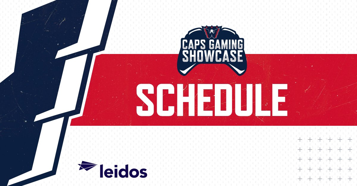 The week 2 schedule for the #CapsGamingShowcase presented by @LeidosInc is now live! Go check out your matchup at: battlefy.com/caps-gaming-sh…